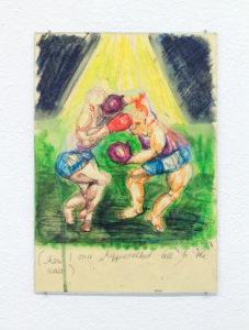 Friederike Haug Zeichnung kunst Art Düsseldorf